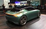 Genesis Mint concept - New York Motor show 2019 - rear