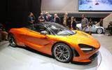 McLaren 720s showroom