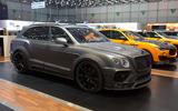 Bentley Bentayga tuned up