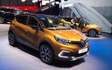 Facelifted Renault Captur
