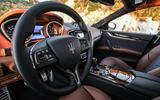 Maserati Ghibli S dashboard