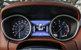 Maserati Ghibli S instrument cluster