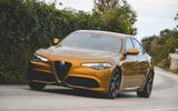 Alfa Romeo Giulia Veloce 2019 first drive review - hero front