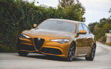 Alfa Romeo Giulia Veloce 2019 first drive review - hero front