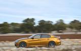 Alfa Romeo Giulia Veloce 2019 first drive review - hero side