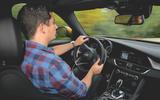 Alfa Romeo Giulia Veloce 2019 first drive review - Tom Morgan turning