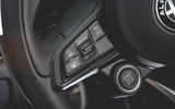 Alfa Romeo Giulia Veloce 2019 first drive review - steering wheel buttons