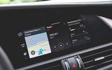 Alfa Romeo Giulia Veloce 2019 first drive review - infotainment