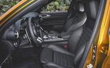 Alfa Romeo Giulia Veloce 2019 first drive review - cabin