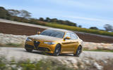 Alfa Romeo Giulia Veloce 2019 first drive review - on the road front