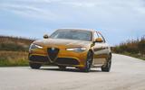 Alfa Romeo Giulia Veloce 2019 first drive review - cornering front
