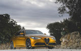 Alfa Romeo Giulia Veloce 2019 first drive review - static front