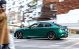 Alfa Romeo Giulia and Stelvio Quadrifoglio 2020 updates - pan rear