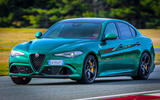 Alfa Romeo Giulia and Stelvio Quadrifoglio 2020 updates - track
