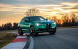 Alfa Romeo Giulia and Stelvio Quadrifoglio 2020 updates - track static