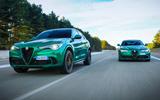 Alfa Romeo Giulia and Stelvio Quadrifoglio 2020 updates - pair