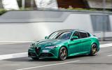 Alfa Romeo Giulia and Stelvio Quadrifoglio 2020 updates - front