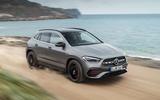 2020 Mercedes GLA reveal - front