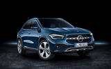 2020 Mercedes GLA reveal - static front