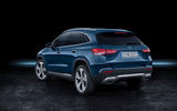 2020 Mercedes GLA reveal - static rear