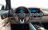 2020 Mercedes GLA reveal - steering wheel
