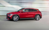 2020 Mercedes GLA reveal - side
