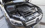Mercedes-Benz GLC 250 d engine bay