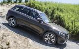 Mercedes-Benz GLC descending