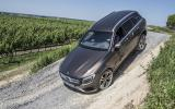 Mercedes-Benz GLC off-roading