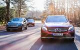 Mercedes-Benz GLC, BMW X3, Land Rover Discovery Sport