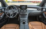 Mercedes-Benz GLC 350 e dashboard