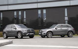 2020 Mercedes-Benz GLC 300e and GLE 350de