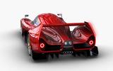 Scuderia Cameron Glickenhaus SCG007 - rear