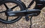 Gocycle G4 features a drivetrain cover to keep out muck