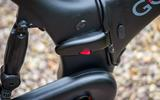 Folding points are visible on the Gocycle G4 - but you don't feel them on the move
