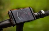 Gocycle G4 phone mount is effective - our tester's balance is in question