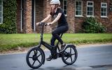 Useful electric range is around 40 miles on the Gocycle G4