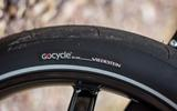 Tyres for the Gocycle G4 are a bespoke, land speed record inspired, creation
