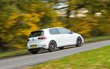 VW Golf GTI vs Hundai i30 N Golf rear
