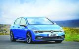 2020 Volkswagen Golf, rendered by Autocar