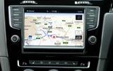 VW Golf R infotainment