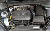 VW Golf R engine