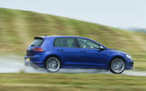 VW Golf R profile
