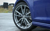 VW Golf R wheel