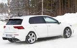 2020 Volkswagen Golf R prototype - rear