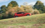 Britain's Best Car Awards 2020 - Volkswagen Golf GTI - tracking side
