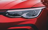 Britain's Best Car Awards 2020 - Volkswagen Golf GTI headlights