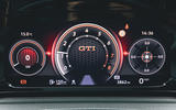 Britain's Best Car Awards 2020 - Volkswagen Golf GTI instruments
