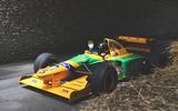 Benneton-Ford F1 car