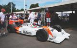 McLaren MP4/4 at Goodwood Festival of Speed 2019
